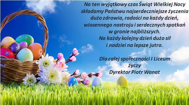 Wielkanoc 2021 - życzenia