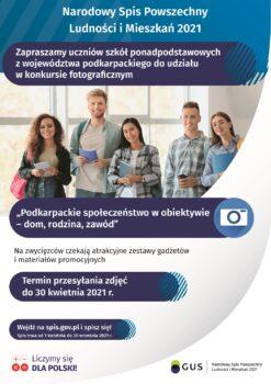 Konkurs Foto - Spis - Plakat