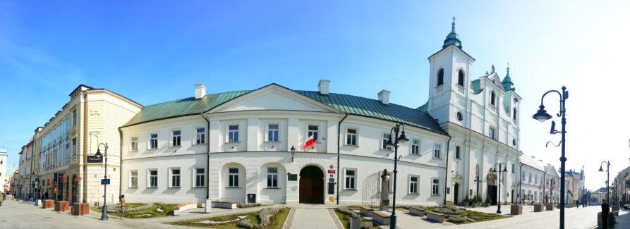 ILO w Rzeszowie - widok z ul. 3 Maja